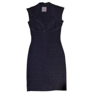 Herve leger mid length dress